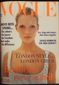 Kate Moss first cover