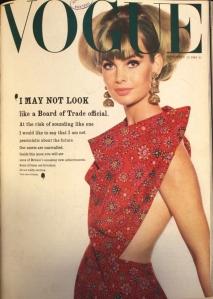 Jean Shrimpton by David Bailey, Vogue 1964