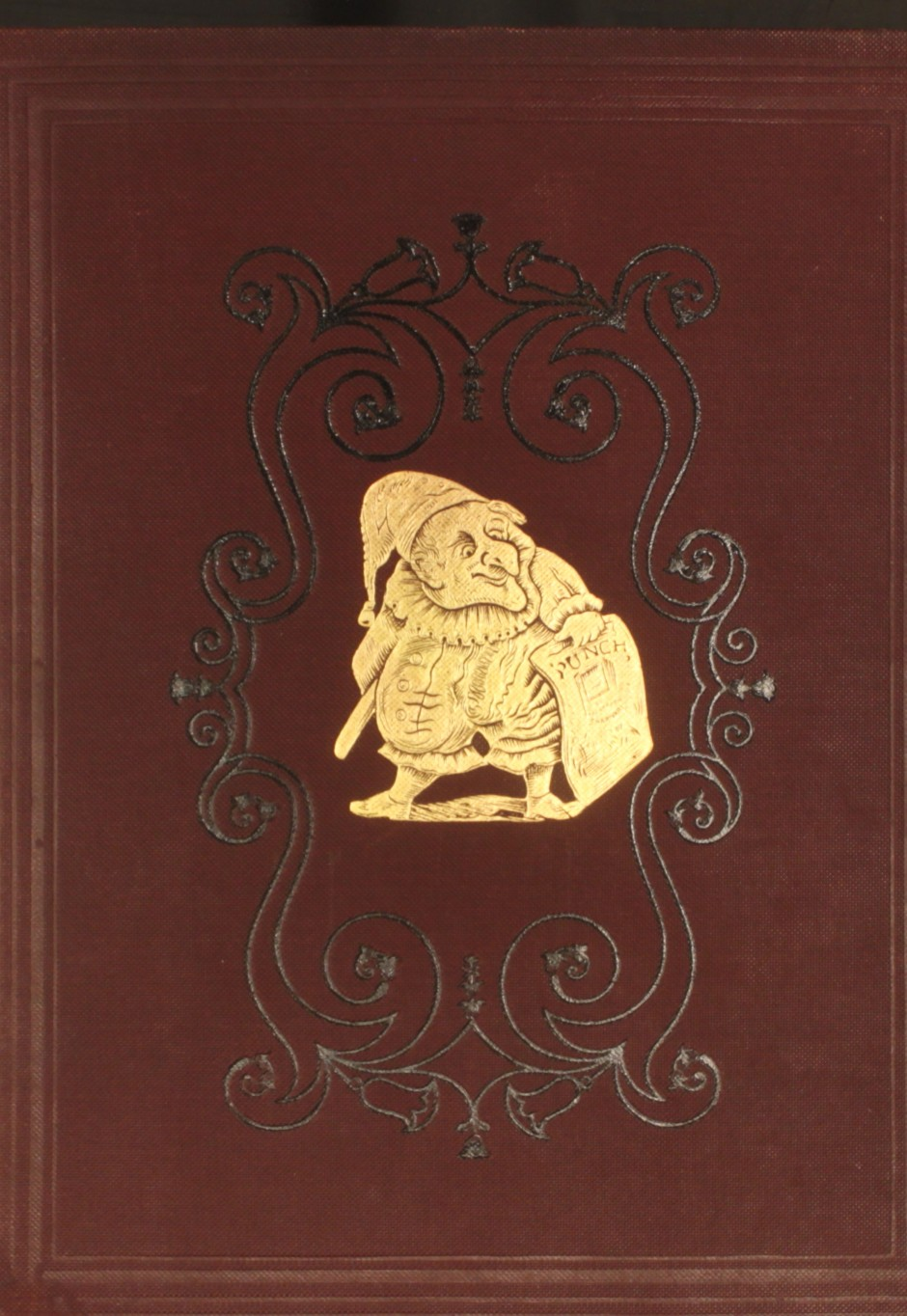 Punch embossed cover