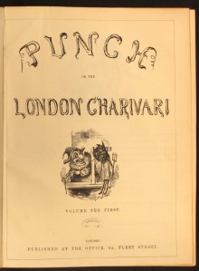 The first volume of Punch, 1841