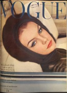 Jean Shrimpton by David Bailey, Vogue 1962