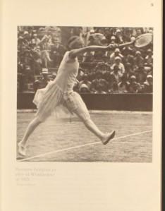 Suzanne Lenglen Wimbledon 1925