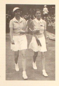 Alice Marble and Kay Stammers, 1939