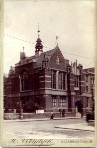 North Kensington Library, sometime in the 1890s