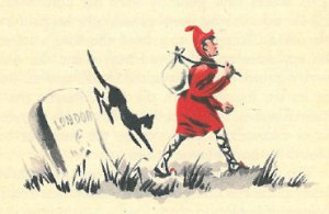 Illustration of Dick Wittington