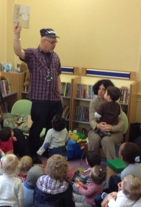Baby rhyme time at Notting Hill Gate Library