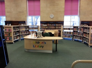 Kensington Central Children's Library- ready for business!