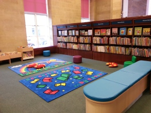 Kensington Central Children's Library- new under 5s area