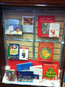 Christmas Book Display