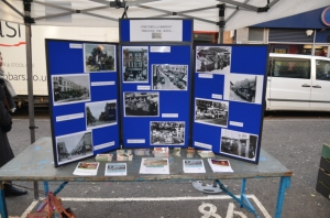 Our market stall from the front