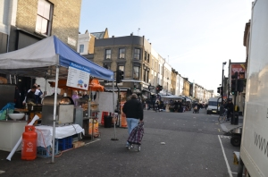 The sun shines at Portobello Market!