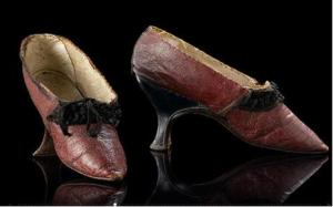Court shoes, ca. 1785