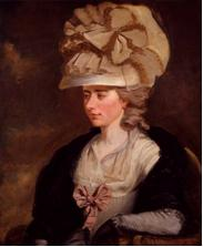 Fanny Burney, British writer, ca. 1785