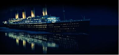 Titanic at Night
