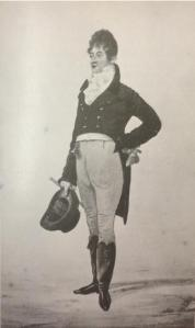 George Brummell- the original Dandy from 'Dandies' by James Laver