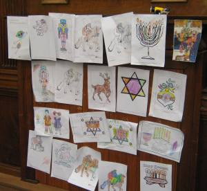 Christmas craft events - Children's drawings