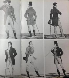 The Dandy style from 'Dandies' by James Laver