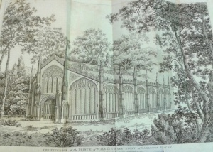 Exterior of the Prince of Wales' conservatory, Carlton house (November 1811)