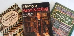 Books of hand and traditional knitting