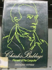 Charles Babbage by Anthony Hyman