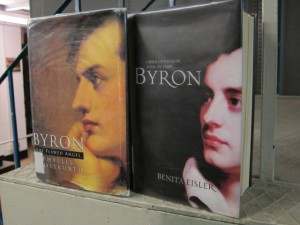 Byron: The Flawed Angel by Phyllis Grosskurth and Byron by Benita Eisler