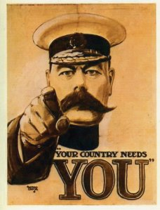 Lord Kitchener, Your Country Needs You