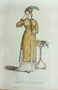 Promenade or Carriage Walking Costume, November 1811