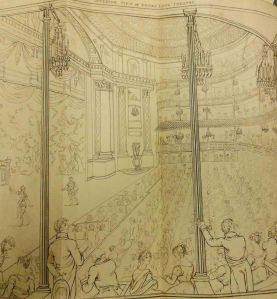 Opening of the Drury Lane Theatre