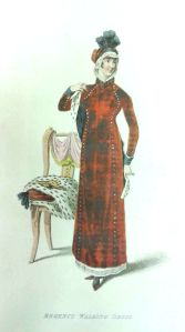 Regency Walking Dress, February 1811