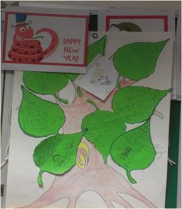 Chatterbooks display