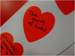 Love Libraries display at Brompton Library