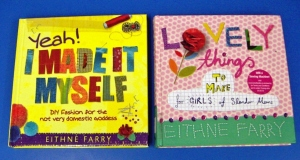 Sewing and craft books by Eithne Farry