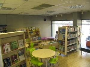 Children's area at Kensal Library