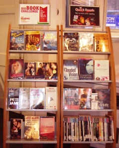 Craft books on display at North Kensington library