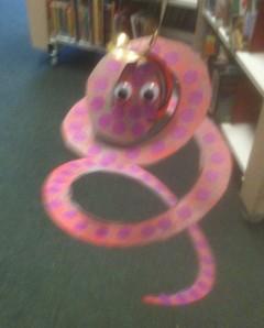 A shaky snake!