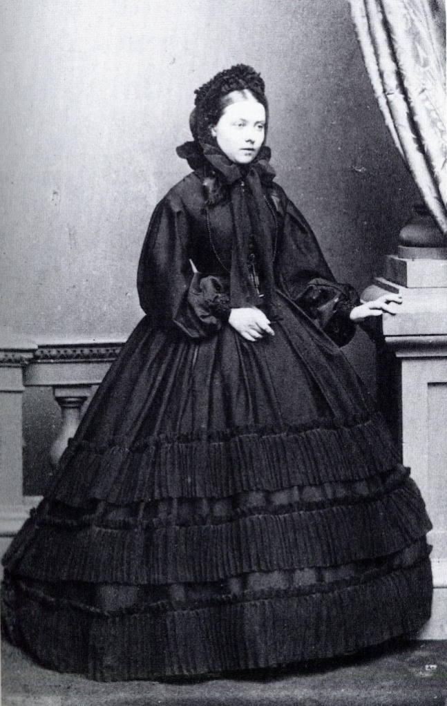 Princess Victoria, eldest daughter of Queen Victoria in 1861