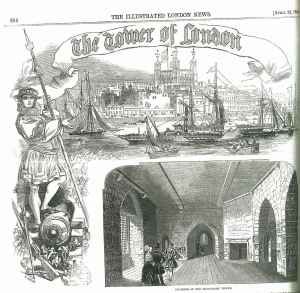 The Tower of London, 22 April 1848