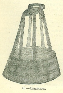 Crinoline from 'Englishwoman's Domestic Magazine' 1869