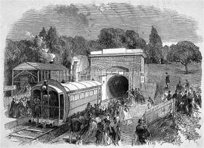 Crystal Palace pneumatic railway