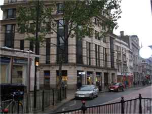 The site of British Museum tube station
