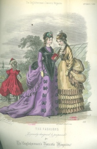 Illustration from 'Englishwoman's Domestic Magazine' October 1869