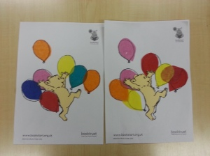 Bookstart balloon picture