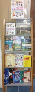 Walk to Work display at Notting Hill Gate Library