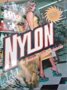 Nylon book cover
