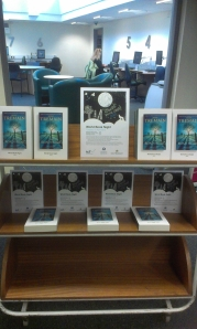 World Book Night books on display at Brompton Library