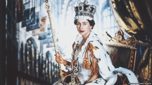 Cecil Beaton's official portrait of Queen Elizabeth II at her coronation