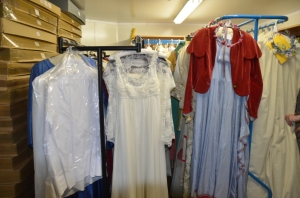May Queen's dresses and a May King's suit!
