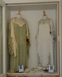 Queen Elsie's and Queen Edna's May Queen dresses