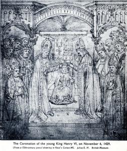 The Coronation of King Henry VI, 1429