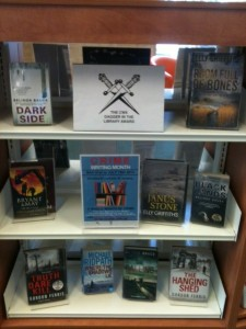 Crime writing display